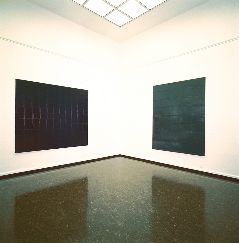 installation Bergen kunsthall 2002