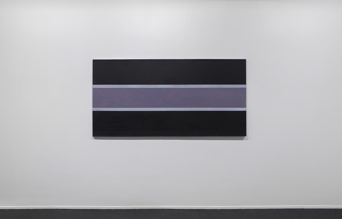 Direction Sea Variation II, Hommage á Samuel Plimsoll, 2014-2016, 100 x 200 cm