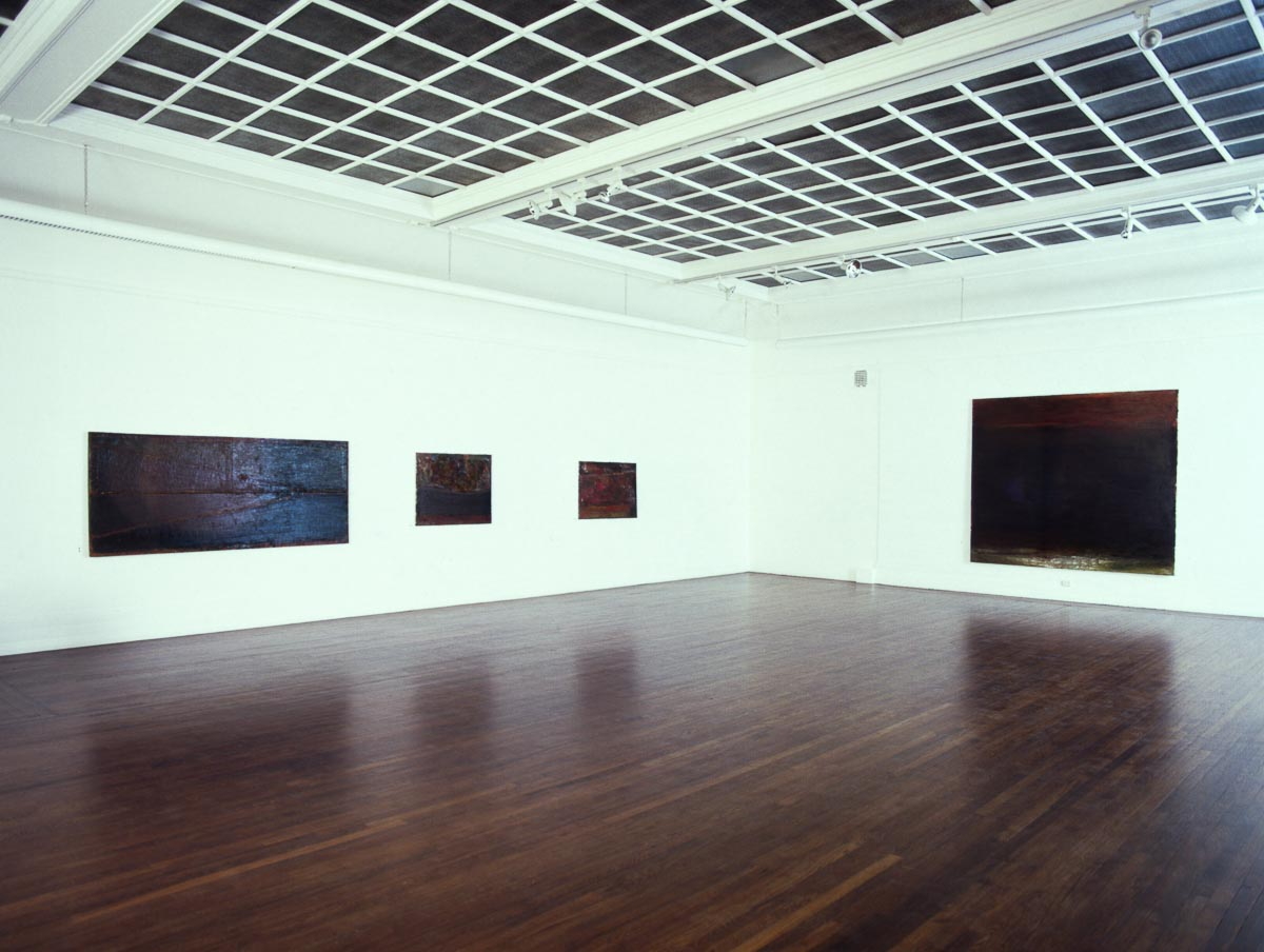 Installation Wang Kunsthandel 2nd floor – 1986